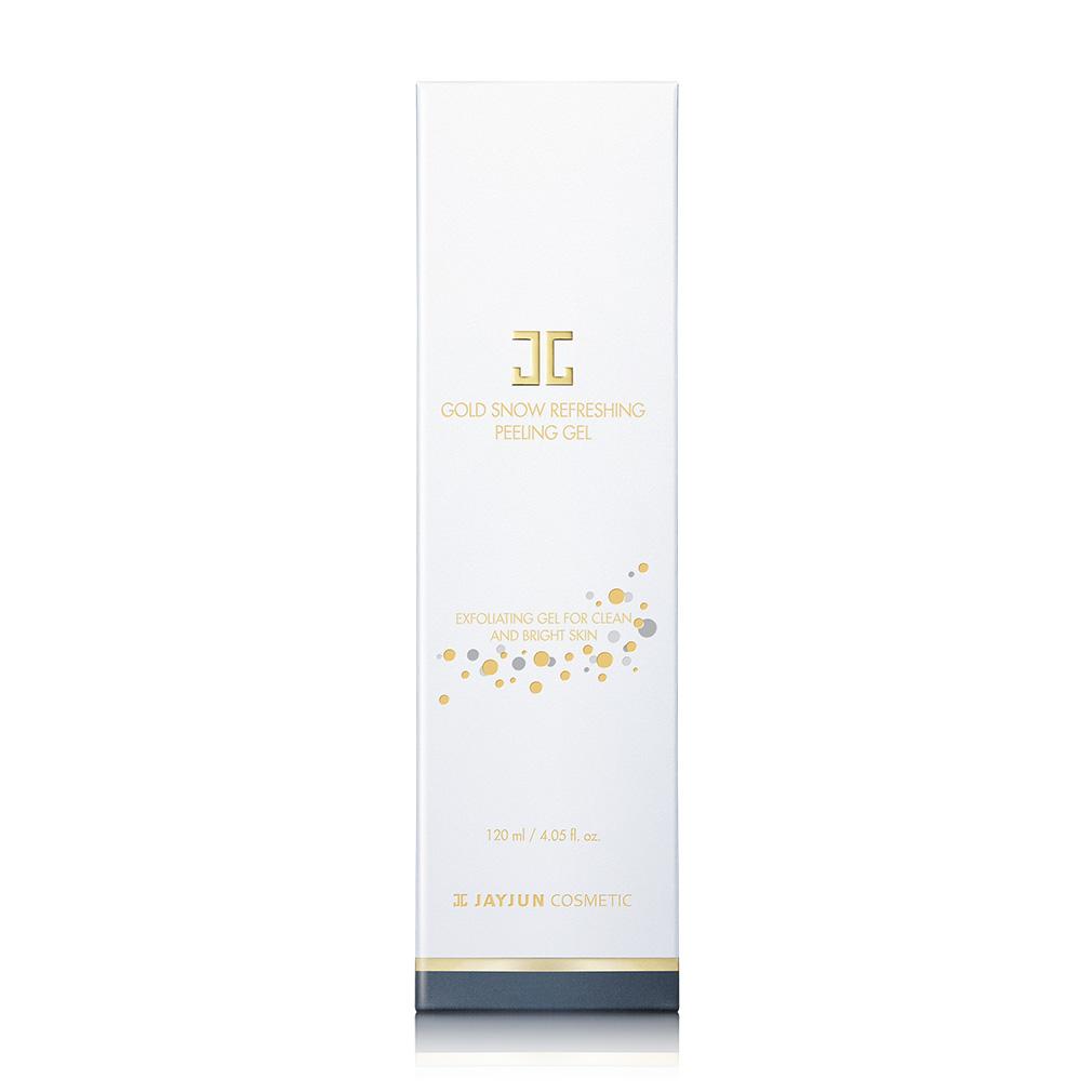 JAYJUN Gold Snow Refreshing Peeling Gel 120ML Derma E, Age-Defying Night Creme, 2 oz (pack of 2)